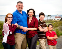 Family Engagement Session at Fort Worden